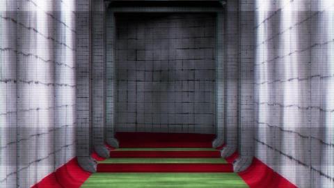 Scary Holographic Hospital Corridor 6 Animation