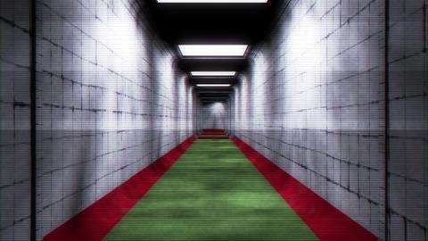 Scary Holographic Hospital Corridor 2 Animation