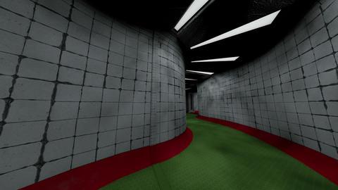 Spooky Morgue Corridor 1 Animation