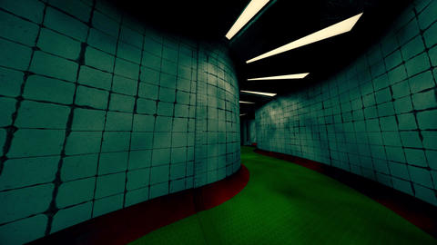 Spooky Morgue Corridor 3 Animation
