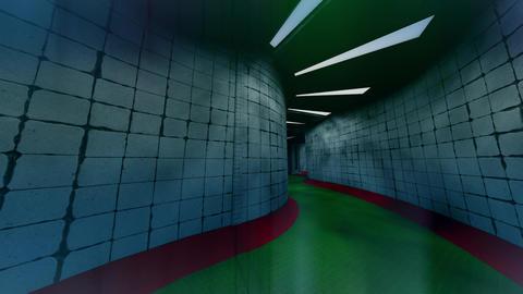 Spooky Morgue Corridor 2 Animation