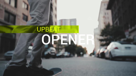 Upbeat Opener After Effects Template