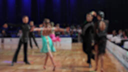 People dancing latin dances.Ballroom dancing Live Action