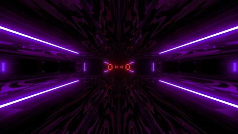 textured scifi glitter tunnel corridor wallpaper background 3d illustration vj Animation