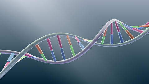DNA Strand Genome image 3 A1A5 4k Animation