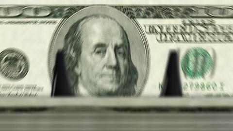 Money counting machine – 100 Dollar Animation