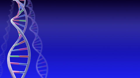 DNA Strand Genome image 3 A1A2b 4k Animation