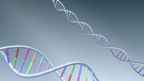 DNA Strand Genome image 3 A1A56 4k Animation