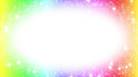 キラキラ背景素材 ループ loop BG colorful Animation