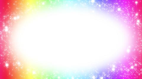 キラキラ背景素材 ループ loop BG colorful Stock Video Footage