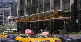 Trump International Hotel and Tower Establishing Shot Footage