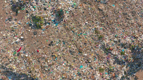 The huge garbage dump, the ecological disaster of our planet Footage