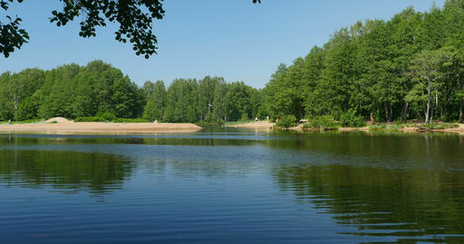 summer scenic river landscape Live Action