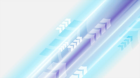 Blue violet arrows abstract technology video animation Animation