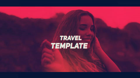 Summer Travel Opener After Effects Template