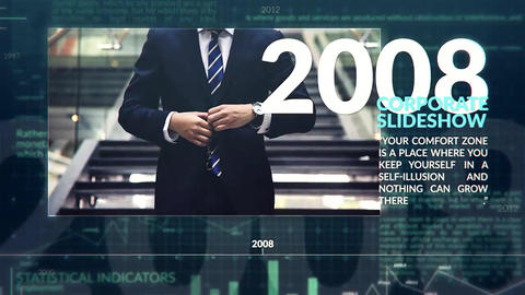 Corporate Timeline After Effects Templates