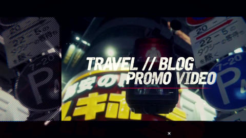 Modern Urban Travel Opener After Effects Template