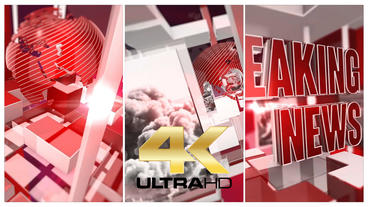 Broadcast News Package After Effects Templates