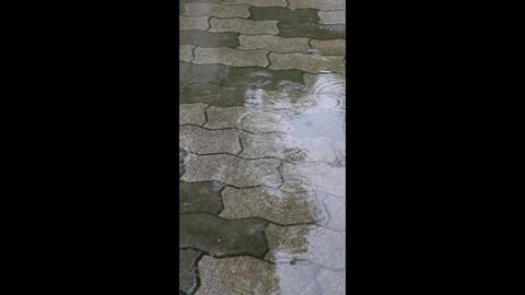 rainy road Footage
