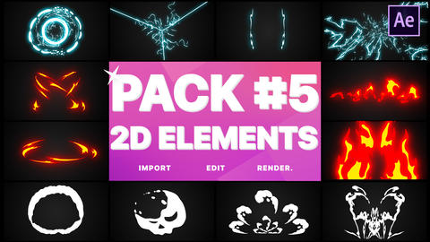 Elements Pack 05 After Effects Template