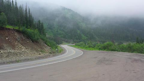 Dangerous mountain road 004 Live Action