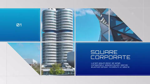 Modern-square-corporate After Effects Template