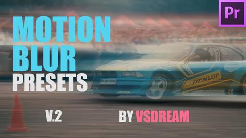 Motion Blur Presets v 2 Premiere Proテンプレート