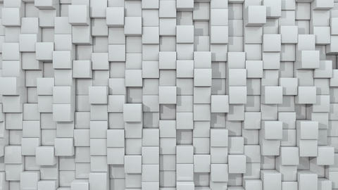3d animated cube white background loop GIF