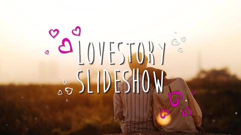 Love slideshow Premiere Pro Template