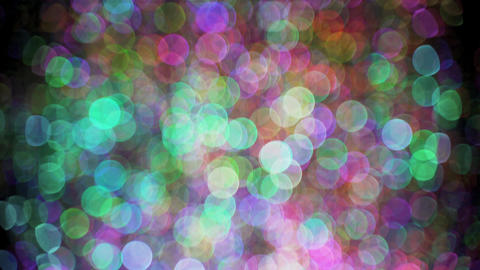 Dazzling Colorful Bokeh Out of Focus Colors Live Action