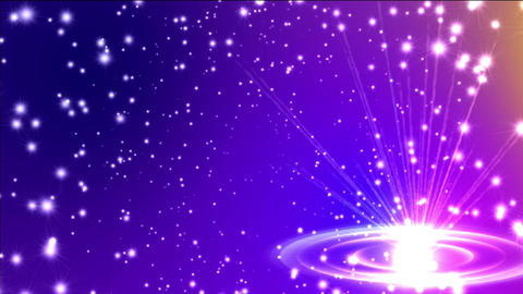 space travel stars Animation