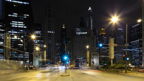 City Road in Chicago, The Night-Time Footage