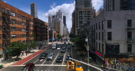 View of 2nd Avenue in Manhattan as Seen from Roosevelt Tramway Footage