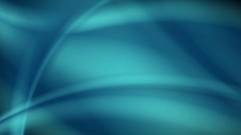 Abstract blue smooth waves video animation clip Animation