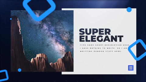 The Space Premiere Pro Template