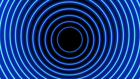 VJ circle light event led neon looped background Animation