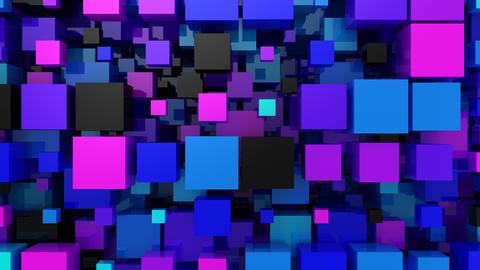 Background of Boxes Animation