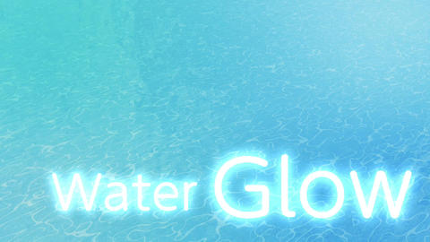 WaterGlow After Effects Template