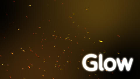 GlowParticle1 After Effects Template