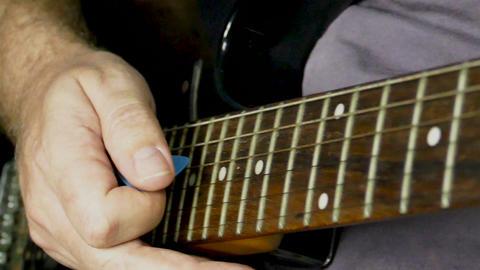 Slomo guitar playing 68 Footage