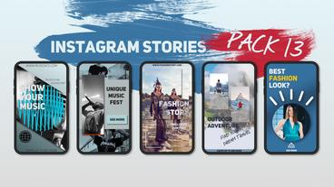 Instagram Stories Pack 13 After Effects Template