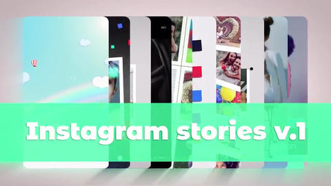 Instagram Stories v 1 After Effects Template
