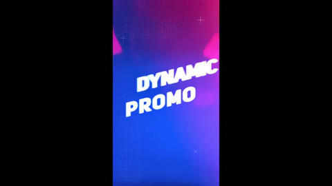 Dynamic Instagram Intro Mobile Template After Effectsテンプレート