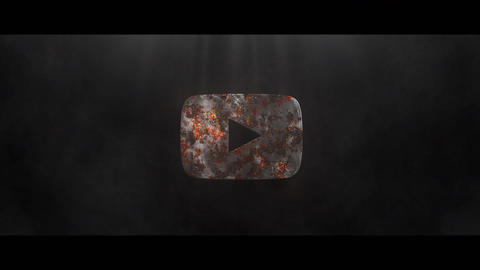 Rust Metall Logo After Effects Template