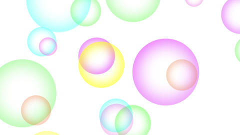Cute bubble Animation