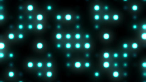 Circle Pattern Lights 1 Loopable Background CG動画素材