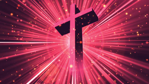Divine Worship Cross 2 Loopable Background Animation