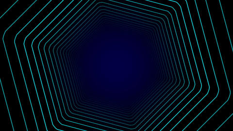 宇宙空間をワープするイメージCG CG動画