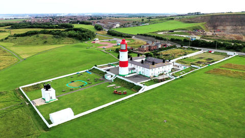 Souter Lighthouse and The Leas, National Trust United Kingdom.Lighthouse3 Live Action