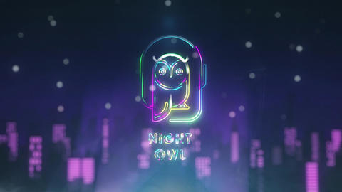 Night City Logo Reveal After Effects Template